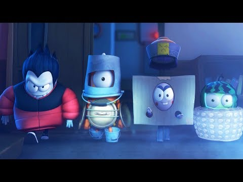 Funny Animated Cartoon | Spookiz | The Spookiz Heroes | 스푸키즈 | Cartoon For Children