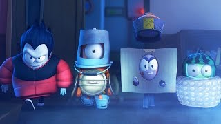 Funny Animated Cartoon | Spookiz | The Spookiz Heroes | 스푸키즈 | Cartoon For Children
