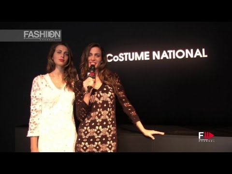 COSTUME NATIONAL with Ennio Capasa and Carlo Capasa - B-Twin Interview MFW16 by Fashion Channel