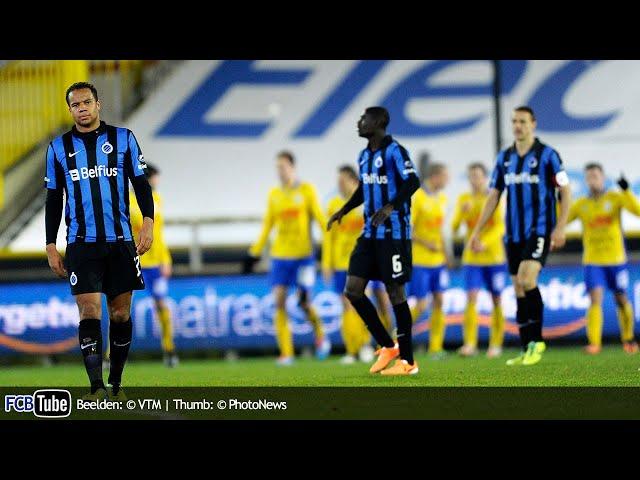 2013-2014 - Jupiler Pro League - 21. Club Brugge - Waasland-Beveren 1-2