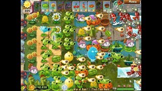 Plants vs Zombies 2 PAK Happy Birtday by Winter Melon - War of Rain 33 Plants Fight!