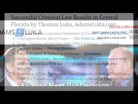 Successful Criminal Defense Attorneys Orlando Area