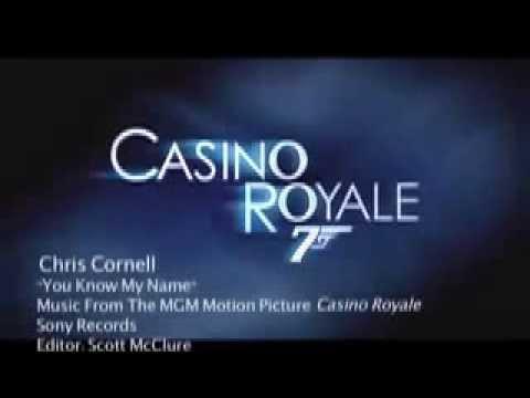 James Bond 007 - Casino Royale 2006 - Chris Cornell - You Know My Name