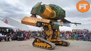 Top 8 Los MegaRobots Gigantes más Increíbles del Mundo - FULL TOPS