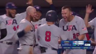 HIGHLIGHTS USA v Nicaragua - Baseball Americas Qualifier
