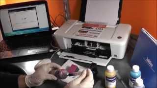 Come ricaricare cartucce Hp 301 301xl 300 stampante HP Deskjet 1010