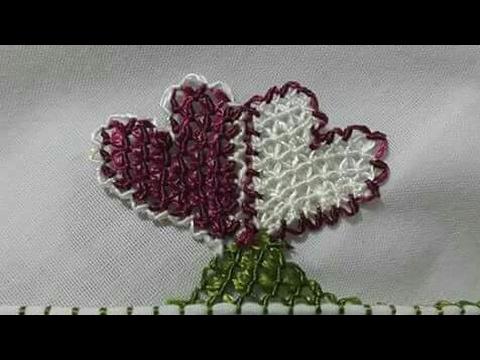 İğne Oyası Boncuklu Kalp Modeli Yapımı Videolu Anlatımlı