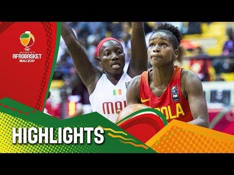 Mali v Angola - Highlights - FIBA Women's AfroBasket 2017