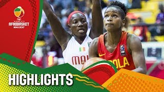 Mali v Angola - Highlights - FIBA Women's AfroBasket 2017