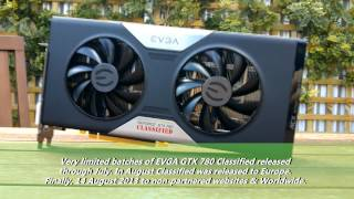 EVGA GTX 780 Classified First Look
