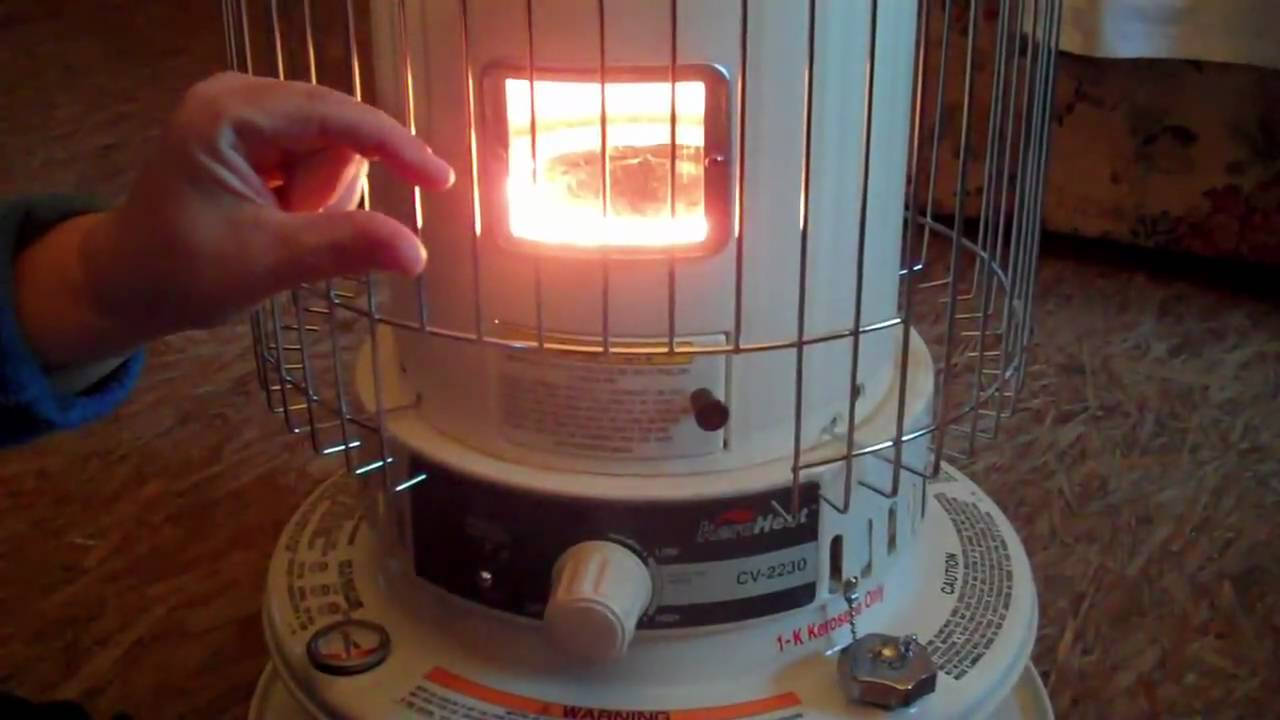 Becky\'s Farm TV: Kerosene heater - YouTube