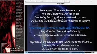 The Fourth Avenue Cafe - L'Arc-en-Ciel - JP ENG, SPA & lyrics
