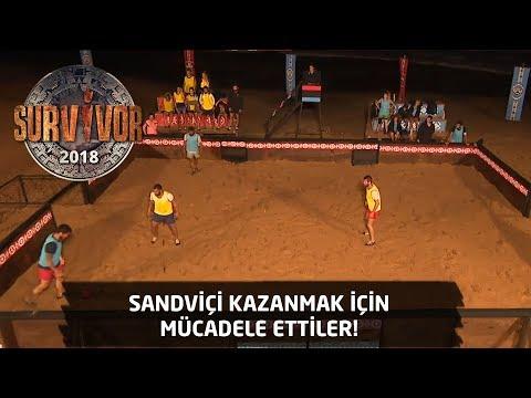 Sandviç İçin Nefes Kesen Mücadele | 19. Bölüm | Survivor 2018