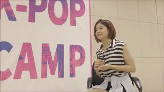 ERICA Winter K-Pop Camp, trainee interview in Chinese