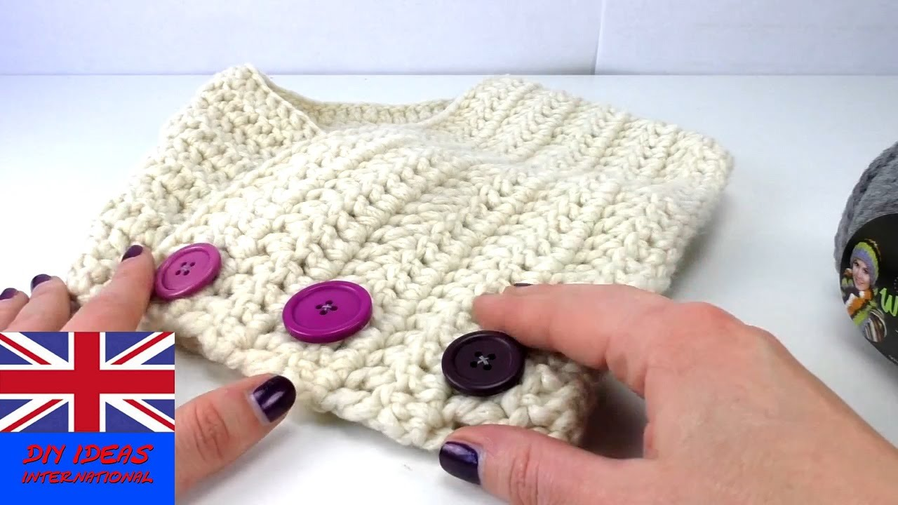 How To Make A Scarf For Kids Scraf Crochet Tutorial Step By Step