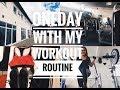 Vlog#3 oneday with my workout routine | ยิมที่ไปออก / ฝนตกหนักมาก
