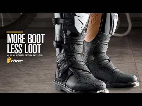 More Boot. Less Loot. Thor MX Blitz Boot
