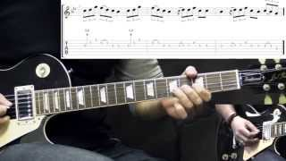 Black Sabbath - Fairies Wear Boots - The Solos - Metal Guitar Lesson (with Tabs)