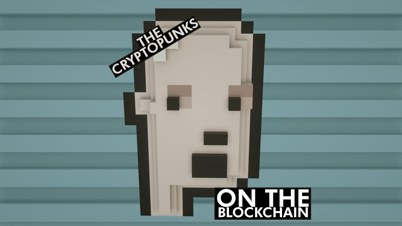 The Cryptopunks - on the blockchain