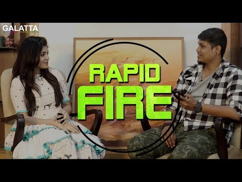 Athulya shares the craziest thing she has done ever | Rapid Fire | Athulya Ravi