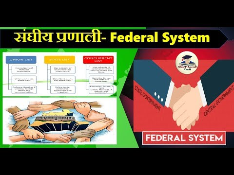 संघीय प्रणाली- Federal System- (Laxmikanth, Chapter-13- Indian Polity) By VeeR