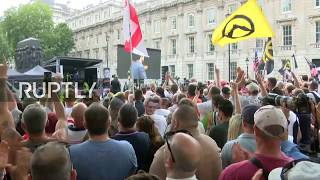 LIVE: 'Free Tommy Robinson' rally takes place in London