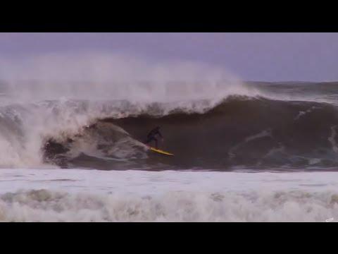 Surfing 10ft Swell - Outerbanks, North Carolina | Nub TV