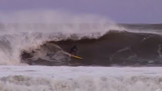 Surfing 10ft Swell - Outerbanks, North Carolina | Nub TV