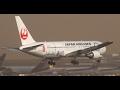 ✈ゴーアラウンド続出 ドラえもんもびっくり 春一番 大荒れの成田空港 壮絶横風着陸 Super Crosswind Narita Airport!!さくらの山