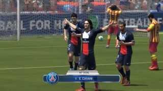 Fifa 14 Demo PC Gameplay - PSG v Barca