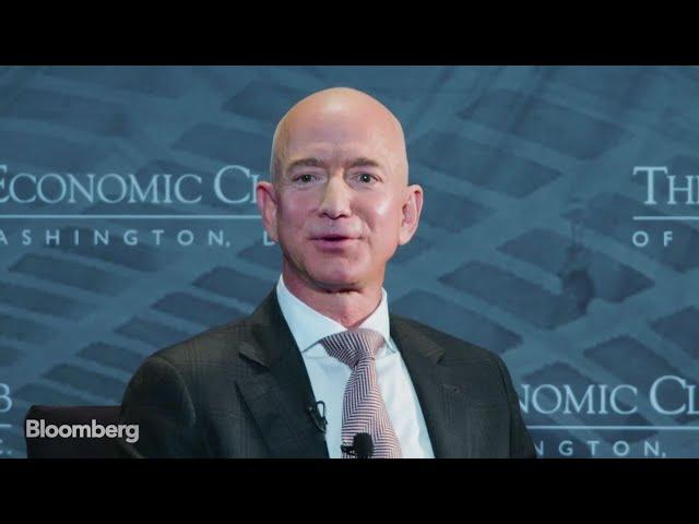 Amazon CEO Jeff Bezos on The David Rubenstein Show
