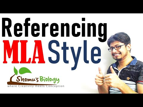MLA Reference Format Tutorial | MLA Style Referencing Tutorial