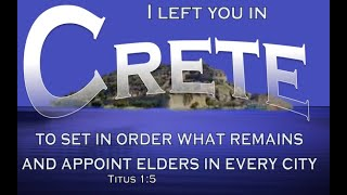 The 'TITUS' in Crete - Dr. Leslie Verghese / Stanley George