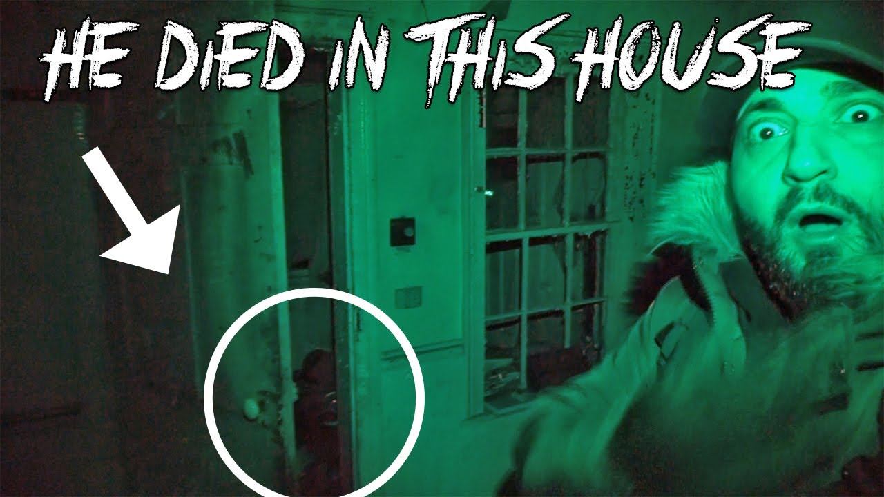THE ANIMAL KILLERS HOUSE at 3AM HAUNTED PARANORMAL CAUGHT ON CAMERA