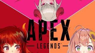 [LIVE] APEX LEGENDSで女子会!?【本間ひまわりと魔界ノりりむとドーラ】