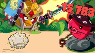 Angry Birds Epic - RED 15,783 DAMAGE - 15k+ Damage