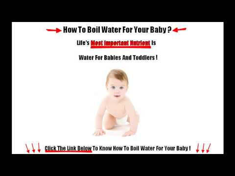 In The Event You Boil Water for Baby Formula