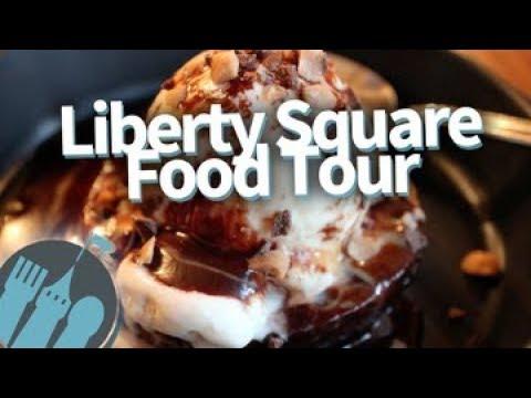 Disney World Food Tour: EVERY Food Spot in Magic Kingdom's Liberty Square!