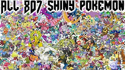 All 807 Shiny Pokemon & Cries