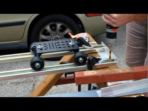 DIY Spider Trax Dolly Track final video