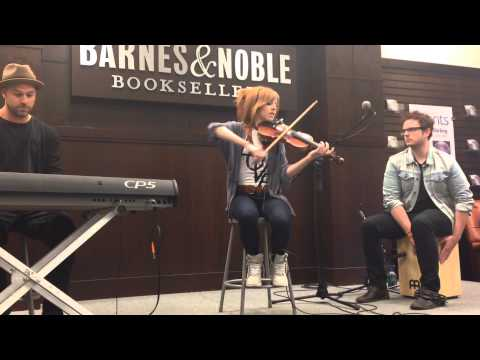 Lindsey Stirling - Take Flight Acoustic - From Shatter Me