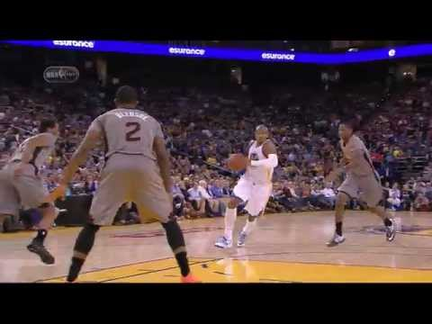 Leandro Barbosa lay up - 2 April 2015 Phoenix Suns at Golden State Warriors