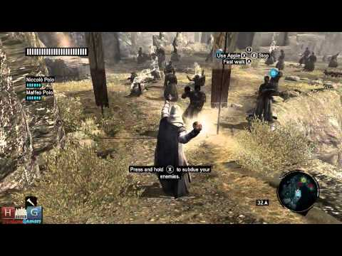 Assassin's Creed Revelations™: Altair using Apple of Eden