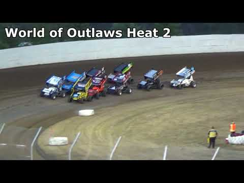Grays Harbor Raceway, September 4, 2017, World of Outlaws Heat Races 1,2 and 3