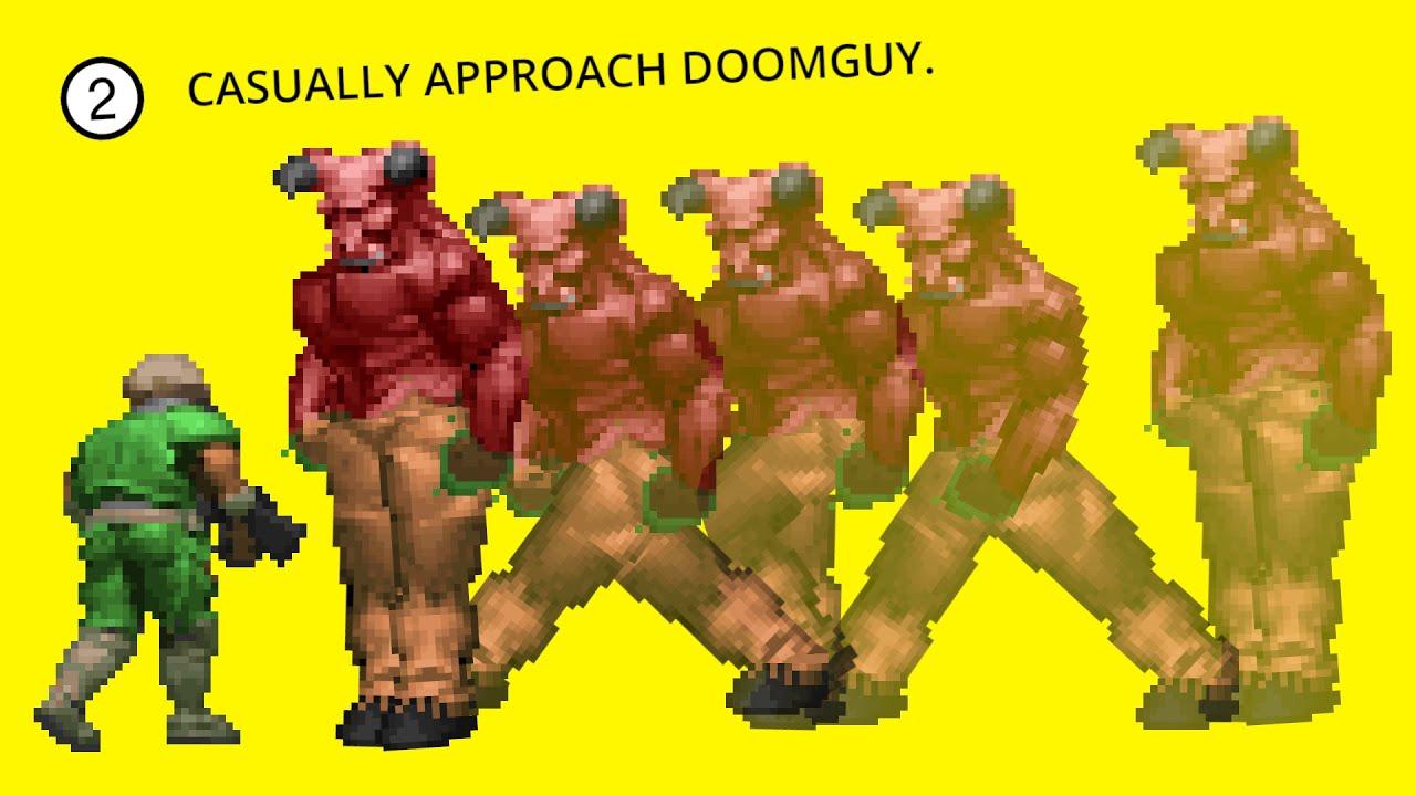How Doom S Enemy Ai Works Youtube