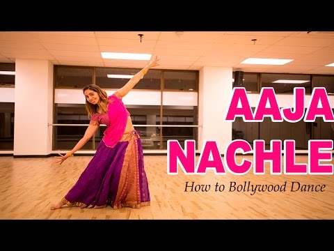 Aaja Nachle Madhuri Dixit  How to Bollywood Dance  Choreography  Francesca McMillan