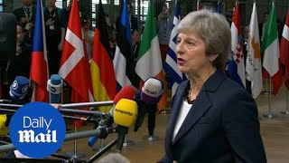 Theresa May confident deal can be done over Brexit