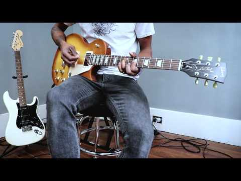 Fender American Special Stratocaster HSS vs Gibson Les Paul Tribute Tone Shoot Out