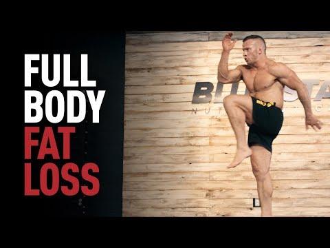 MMA Bodyweight HIIT Workout Fat Burning Cardio