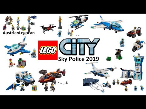 Lego City Sky Police 2019 Compilation of all Sets
